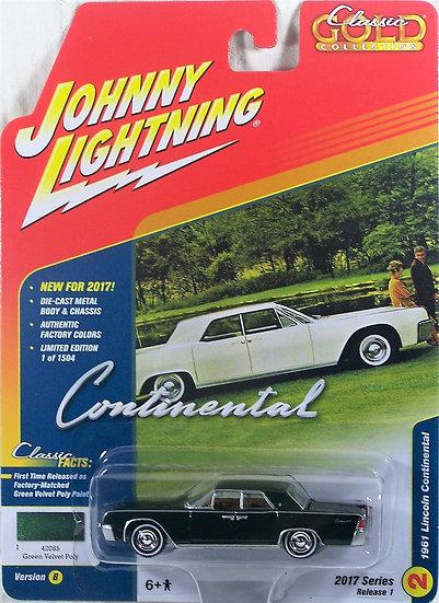 JLCG003-2B .. 1961 Lincoln Continental