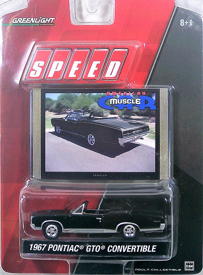 GL STV1-2 ..  1967 Pontiac GTO Convertible