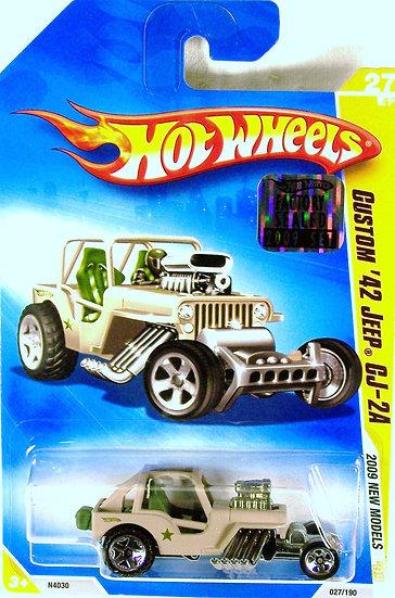 HW09-027(b)* .. Custom 42 Jeep CJ-2A