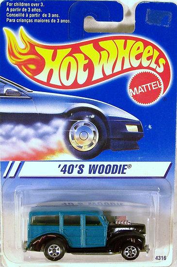 HW95-217(a) .. 40's Woodie