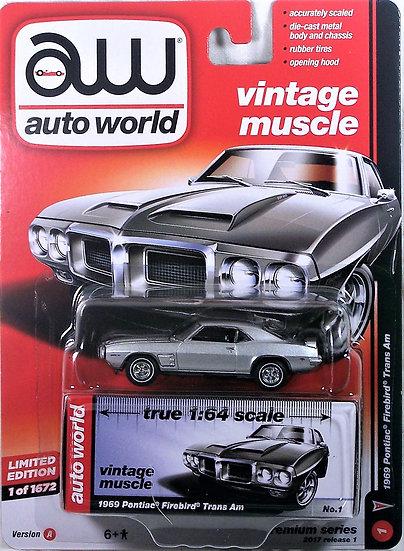 AW64052-1A .. 1969 Pontiac Firebird Trans Am