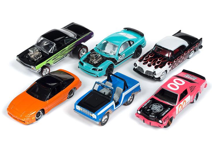 Johnny Lightning JLSF012 - Set A - 6 Car Case