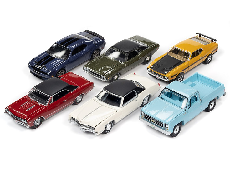 Auto World .. AW64272 - Set A - 6 Car Case