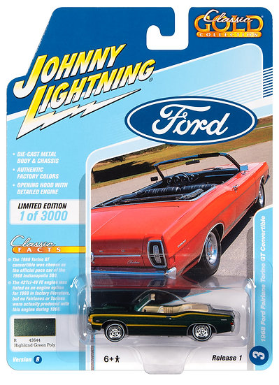 JLCG021-3B .. 1968 Ford Fairlane Torino GT Convertible
