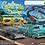"Thumbnail: SRS331 .. Auto World ""California Cruising"" Slot Car Race Set"