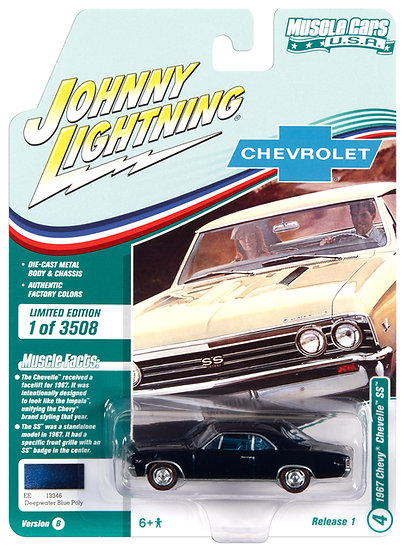 JLMC025-4B .. 1967 Chevy Chevelle SS