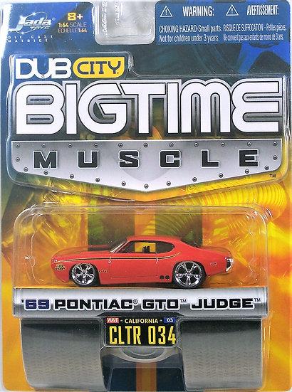 BTM W3-034 .. '69 Pontiac GTO Judge