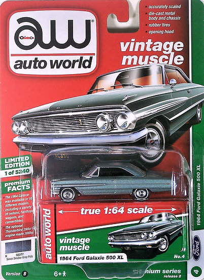 AW64222-4B .. 1964 Ford Galaxie 500 XL