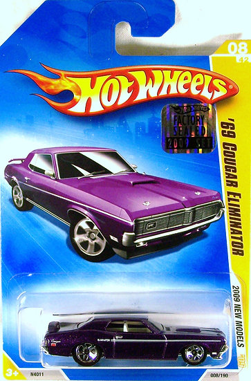 HW09-008(c)* .. 69 Mercury Cougar Eliminator