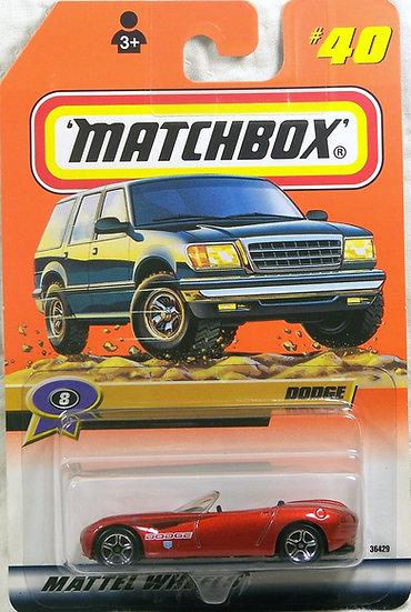 MB99-040 .. Dodge Concept Car