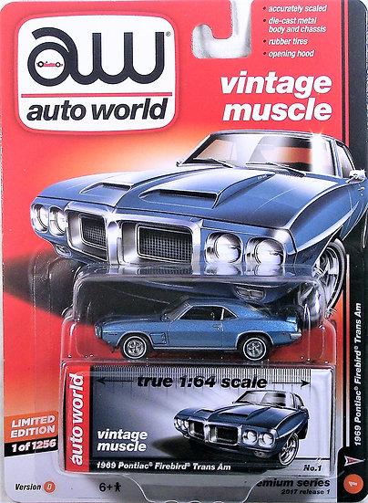 AW64052-1D .. 1969 Pontiac Firebird Trans Am