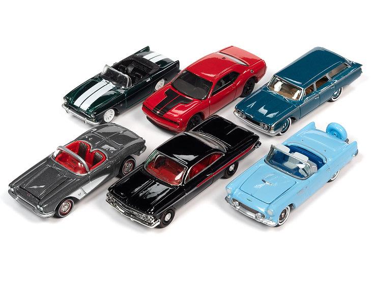 Johnny Lightning JLCG023 - Set A - 6 Car Case