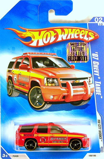 HW09-108(a)* .. 07 Chevy Tahoe