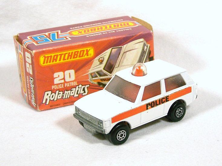 MB76-020 .. Range Rover Police Patrol