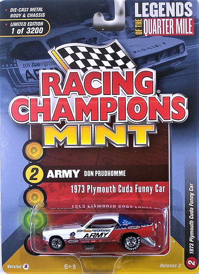 RC008-2A .. Don Prudhomme 1973 Plymouth Cuda FC