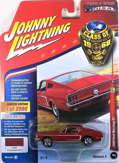 JLMC013-2B .. 1968 Ford Mustang GT