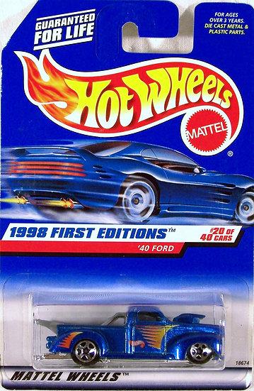 HW98-654(a) .. '40 Ford