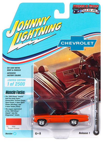 JLMC022-4A .. 1969 Chevy Impala SS Convertible