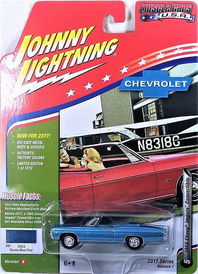 JLMC003-5B .. 1968 Chevy Impala Convertible