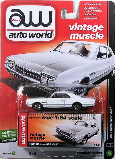AW64042-2C .. 1966 Oldsmobile 442