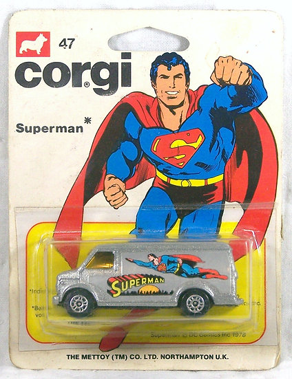 CORGI 47 .. Superman Van