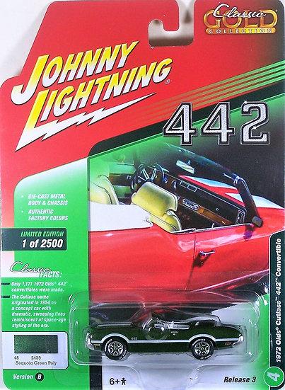 JLCG015-4B .. 1972 Olds Cutlass 442 Convertible