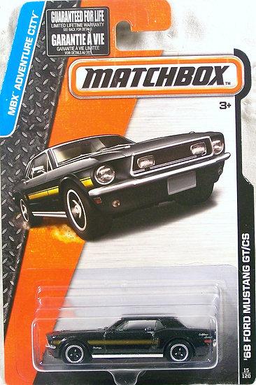 MB15-015 .. '68 Ford Mustang GT/CS