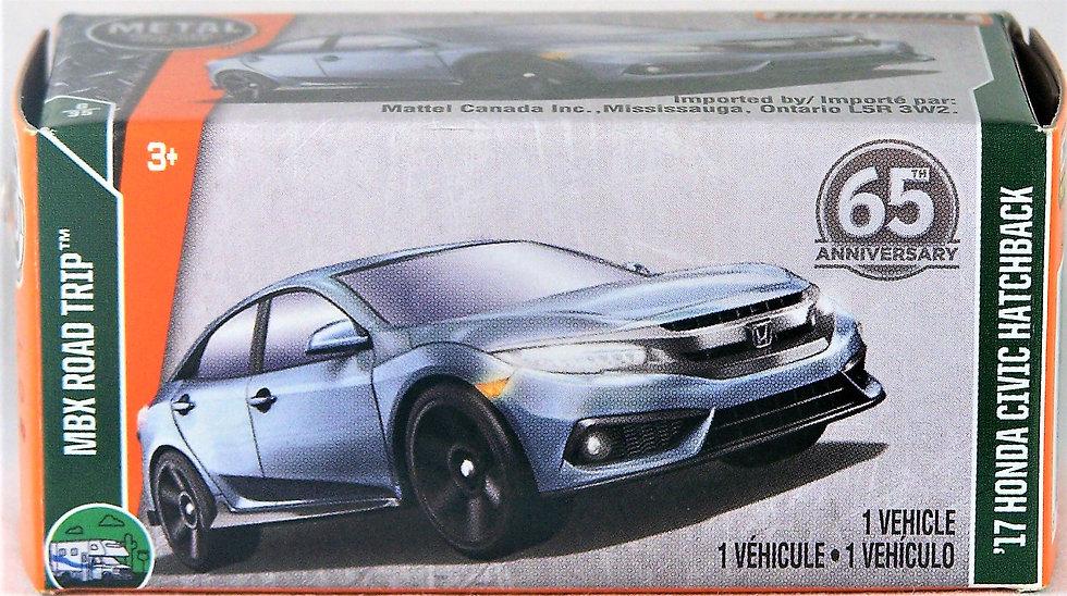 MB18-007 .. '17 Honda Civic Hatchback