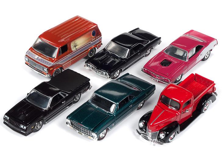 Racing Champions - RC009 - Set B - 6 Car Case