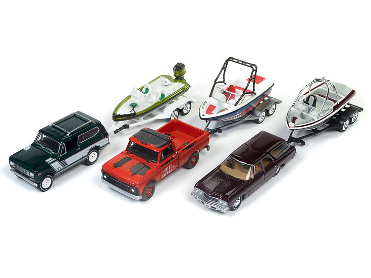 JLBT004A .. Gone Fishing - 3 Car Set
