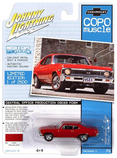 JLMC023-2A .. 1968 COPO Chevy Nova SS