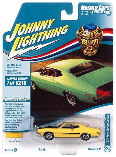 JLMC026-2A .. 1971 Ford Torino Cobra