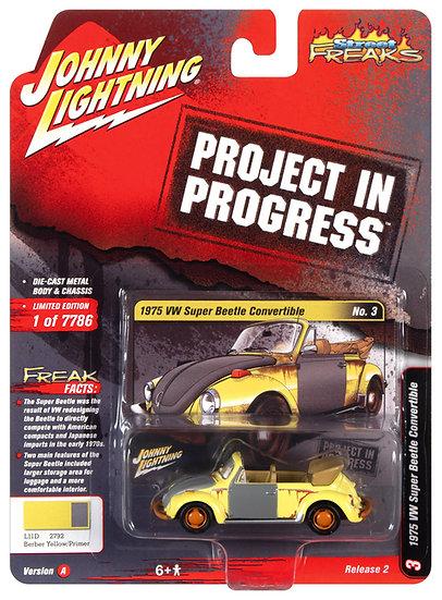 JLSF020-3A .. 1975 VW Beetle Convertible (Project in Progress)
