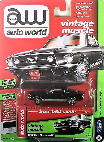 AW64182-5A .. 1967 Ford Mustang GT