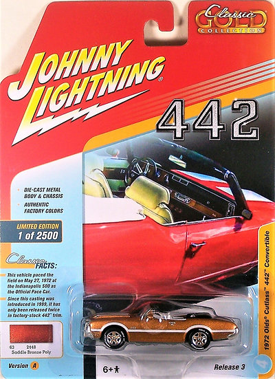 JLCG015-4A .. 1972 Olds Cutlass 442 Convertible