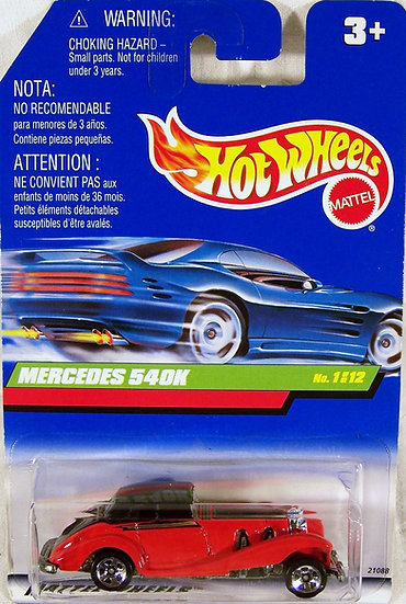 TH99-929 .. Mercedes 540K