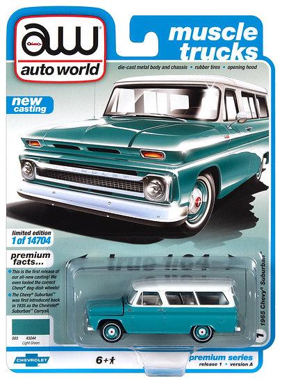 AW64302-1A .. 1965 Chevy Suburban