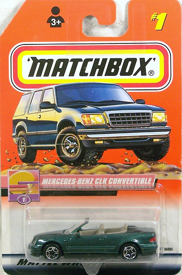 MB00-001 .. Mercedes CLK Convertible