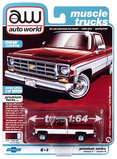 AW64252-2B .. 1977 Chevy Cheyenne C10 Fleetside