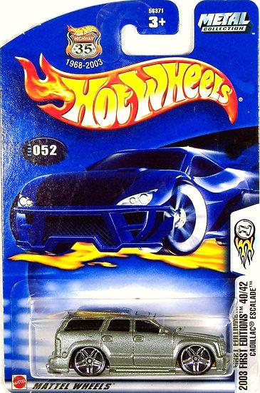 HW03-052 .. Cadillac Escalade