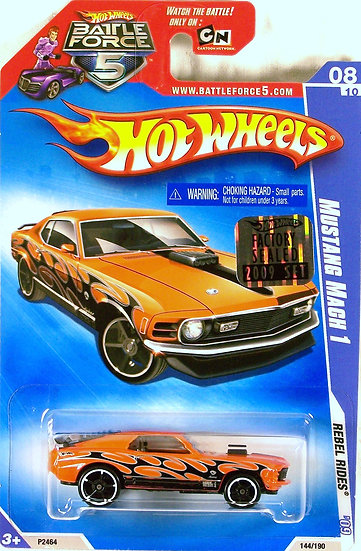 HW09-144(b)* .. Mustang Mach 1