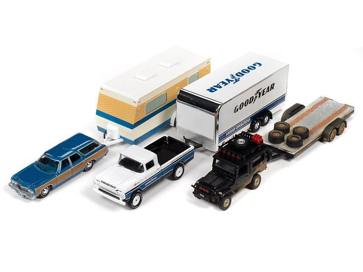 JLBT013B .. Truck & Trailer 3 Car Set