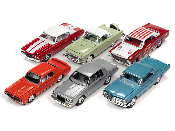 Racing Champions - RC012 - 6 Car Case