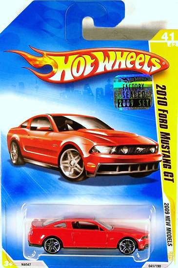 HW09-041(a)* .. 2010 Ford Mustang GT