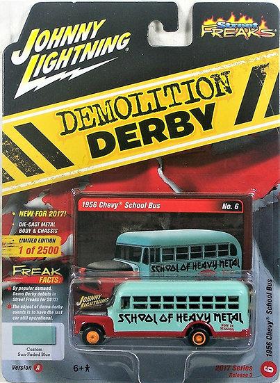 JLSF005-6A .. 1956 Chevy School Bus