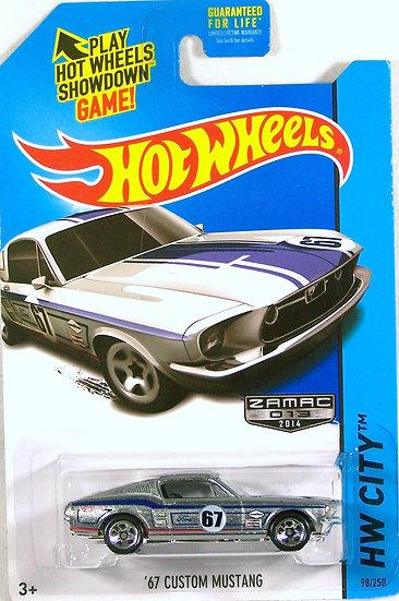 HW14-098 .. '67 Custom Mustang
