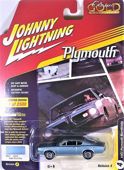 JLCG016-4A .. 1967 Plymouth Barracuda
