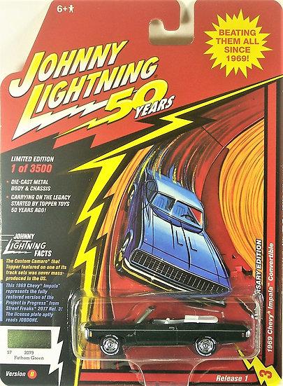 JLCG018-3B .. 1969 Chevy Impala Convertible