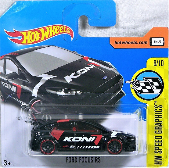 HW17-176 .. Ford Focus RS - short card