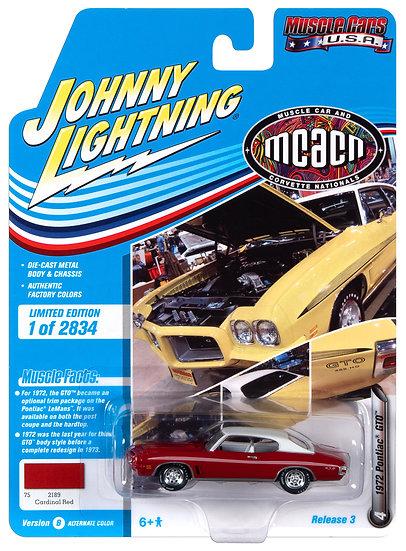 JLMC024-4B .. 1972 Pontiac GTO